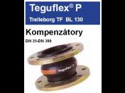 Gumové kompenzátory pro kompenzaci tepelné dilatace potrubí-Teguflex, Trelleborg