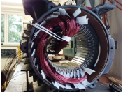 Servis elektromotorů - opravy, převíjení a navíjení