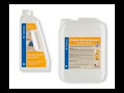 Prodej, dodávka - čistící prostředky na lité cementové podlahy
