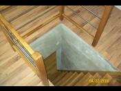 Dřevěné vnitřní schody, obklady schodů, celodřevěné schodiště z různých druhů dřeva