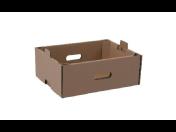 Paletky a krabice pro přenos potravin - papírové bedničky na ovoce a zeleninu
