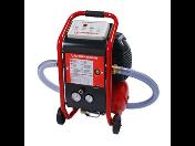 Čištění podlahového topení, topných systému, údržba, proplachovací kompresor