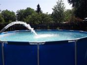 Odčerpání a napuštění, plnění vody do bazénů z cisterny Praha a okolí