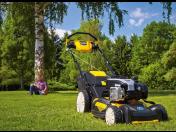 Elektrické, benzínové zahradní sekačky, travní sekačka - Husqvarna, MTD, Cub Cadet