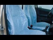Výroba,  jednorázové ochranné povlaky autosedadel, autosedaček,polyetylén