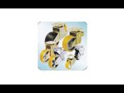 Strojní komponenty a pneumatické prvky - pojezdová kola, těsnicí prvky, kluzná ložiska