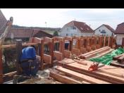 Návrhy tesařských konstrukcí, krovy, tesařské práce, 3D vizualizace