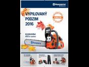 Podzimní akce na pily HUSQVARNA, stroje a příslušenství za zvýhodněné ceny, Znojmo