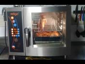 Vybavení školních jídelen, kuchyní - konvektomaty, chladící technika, výdejní zařízení