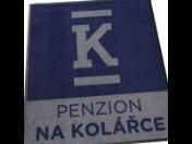 Textilné rohože s logom, protisklzové rohože, výroba, predaj, dodávka Brno, Česká republika