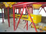 Výroba pásových vah, k měření hmotnosti sypkých materiálů