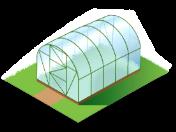 Výroba montované skleníky z lexanu-včetně montáže, zajištěna doprava