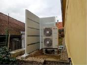 Schallschutzsysteme, Lärmschutzwände und Fassadenplatten, Montage Tschechien