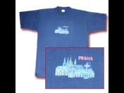 Tričko s potiskem Praha -  vytiskneme jakýkoliv motiv na trička všech velikostí a barev