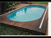 Plastový bazén + zdarma kompletní izolace, ruční vysavač a chemie