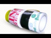 Potištěné samolepicí pásky - pro zabezpečení, reklamu a identitu baleného zboží