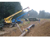 Rychlá a profesionální výstavba, dodávka, montáž plynovodů a ropovodů