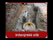 Výstavba inženýrských sítí, ČOV, vodohospodářských staveb