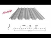 Švédské trapézové plechy pro střešní pláště budov, tak i pro obvodové stěny či fasádní prvky