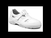 Pracovní a bezpečností obuv bílá nejen do potravinářského průmyslu