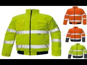 Pracovní oděvy, bundy, vesty, kombinézy, kalhoty - výroba, dodávka, prodej