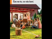 Technika na zahradu STIHL - AKU křovinořezy, elektrické vyžínače, motorové pily a zahradní nůžky v jarní akci