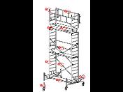 Fasádní rámové lešení Alfix pro velké i malé stavby