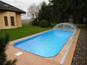 Plastový bazén - kompletní dodávka bazénového setu včetně montáže