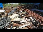 Zpracování kovového odpadu, kovy, konstrukce a šrot