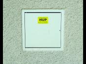 Plynová dvířka různých rozměrů a další vhodné doplňky HUP