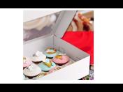 Papírové krabičky na výslužky a cukrářské výrobky (zákusky, koláče) - vhodné pro svatby a oslavy