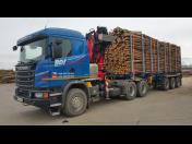 Odvoz sutin a stavebního odpadu sklopnými kontejnerovými vozy