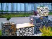 Stavba Gabionů - okrasné zídky a ploty z kamene pro Vaší zahradu za nízkou pořizovací cenu