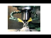 Ohebné flexibilní hadice Legrom pro přívod chladicí a mazací kapaliny do stroje či výrobní linky