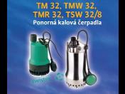 Ponorná kalová čerpadla prodej Praha – pro nejrůznější domácí využití