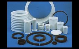 PTFE polotovary, hotové díly, tak i prefabrikáty