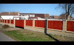 Dřevěné ploty, dřevěné stěny