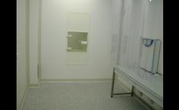 Čisté prostory Praha - pro zdravotnictví, farmacii a biotechnologii