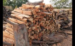 palivové dřevo z pily Lubná