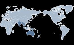 Globálna logistika - hustá sieť zastúpenia po celom svete
