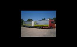 Juhasz Logistic, s.r.o., přeprava zásilek v ČR a zahraničí, spedice, logistika, skladování