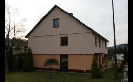 Zateplení fasády rodinného domu OKAL Jeseník, Brno