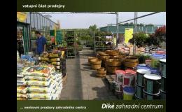 Velkoobchodní prodej zahradnických potřeb