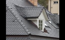 Břidlicová střecha v černém nebo barevném provedení