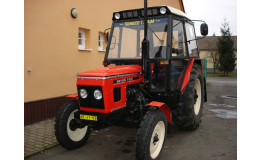 Renovace traktorů ZETOR Velim