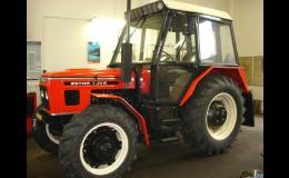 Kvalitní renovace traktorů ZETOR Velim