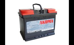 Autobaterie Akuma - prodej, dovoz okolí Uherského Hradiště