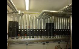 Montáž a demontáž topných systémů Třebíč
