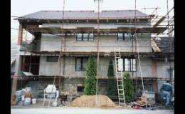 Zateplení fasád rodinných a bytových domů Třebíč