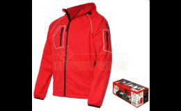 Softshellová bunda THINY s karabinou k zavěšní na batoh